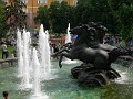 Moscow - fountain with horses