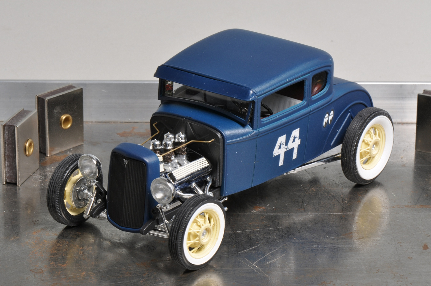 My second completed Revell \'29A Kitbash - a \'30A Five Window Coupe ...