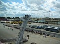 Queues for the Shuttle Bus into Zeebrugge