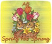 Alf-gailz-bunnies and tulips