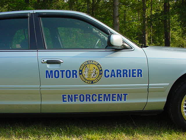 Photo nc north carolina highway patrol motor carrier for Chp motor carrier safety unit