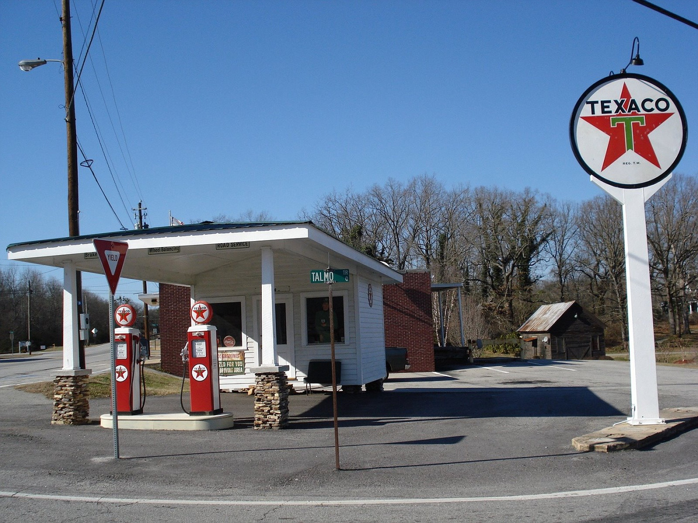 Photo Old Texaco Gas Station Northeat Ga Old Gas Stations Album Tinwolf Fotki Com Photo And Video Sharing Made Easy