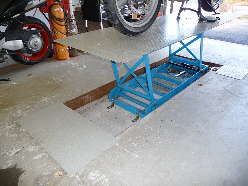 Thread Harbor Freight Motorcycle Lift
