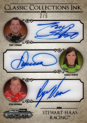 2013 Showcase Classic Collections Ink Gold Stewart-Haas Racing (1)