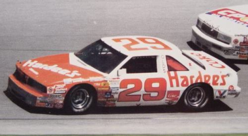 Hardees Race Car