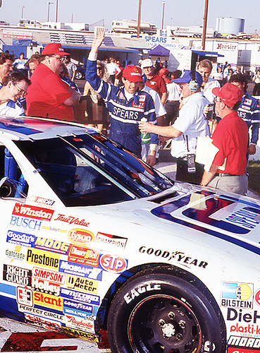 Bill Sedgwick wins the Winston 400 at Mesa Marin, October 13, 1991.