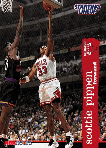 1996 Starting Lineup Scottie Pippen (1)