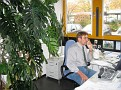 Manfred in seinem Office