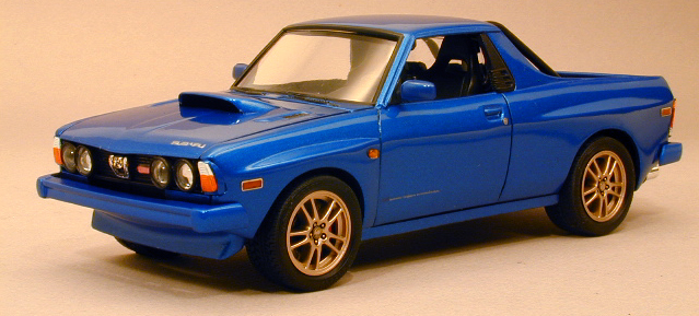 Introducing: Subaru BRAT WRX STi - Model Cars Magazine Forum
