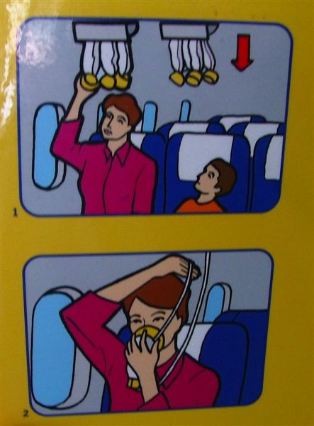 Safety Card Boeing 737-800 007