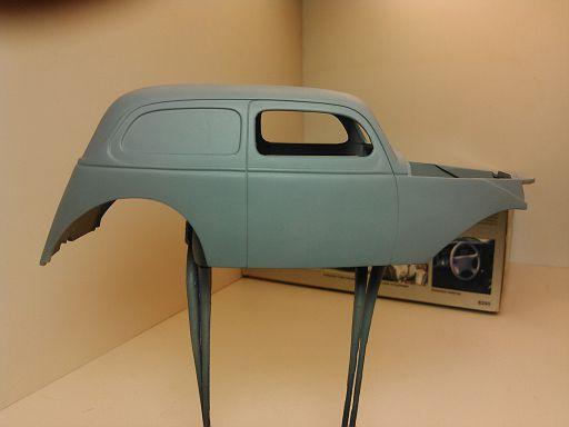 WIP - 1938 Custom Ford Van 012