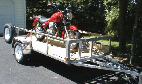 Trailer Deck That Goes Flat To Ground