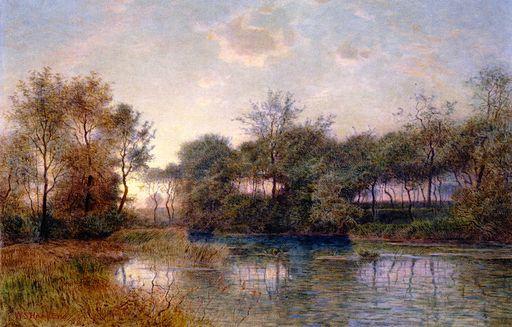 River Landscape [1893]