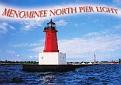 Menominee North Pier Light