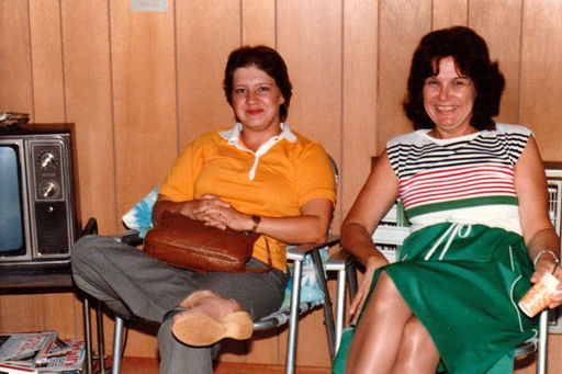 12-Gaile Dean (AUSTIN) Hawkins, and Shirley MYERS Austin.