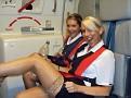 Порно стюардессы в самолете, секс с бортпроводницей онлайн ...