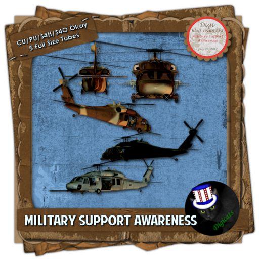 Military Support Awareness (Bonus)