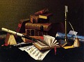 Still Life with Pipe and New York Herald (Still Life with Pipe, Mug and Newspaper)  [1878]