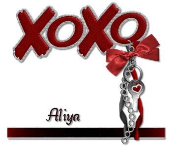 Aliya-XOXO scrap kit-gailz