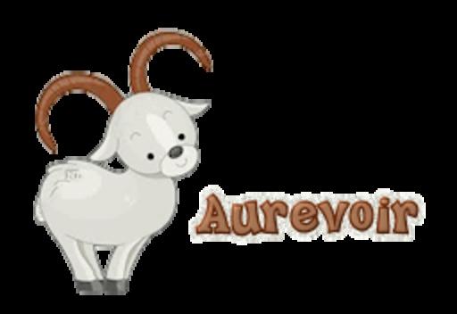 Aurevoir - BighornSheep