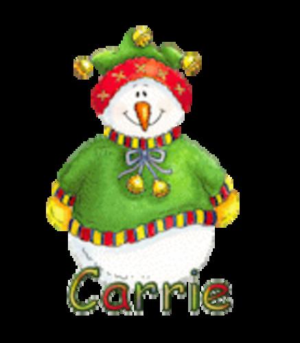 Carrie - ChristmasJugler