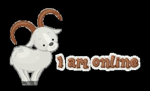 I am online - BighornSheep
