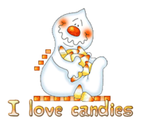 I love candies - CandyCornGhost