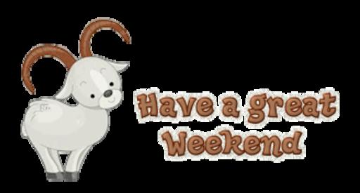 Have a great Weekend - BighornSheep