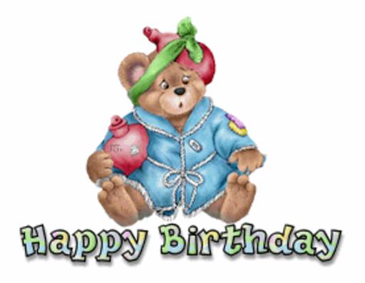 Happy Birthday - BearGetWellSoon