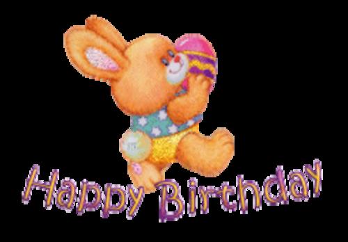 Happy Birthday - EasterBunnyWithEgg16