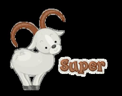 Super - BighornSheep