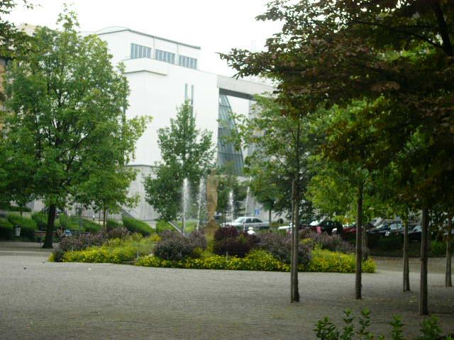 A park near the Station