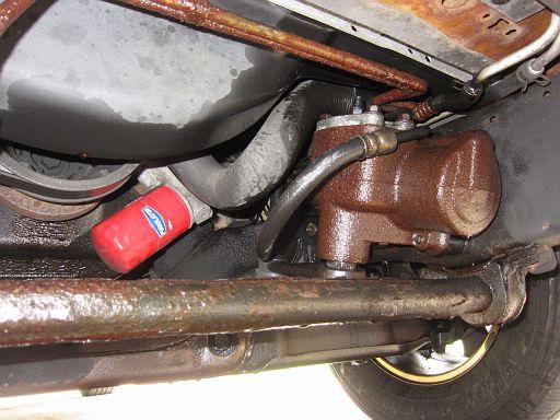 Trans Cooler Line Sprung a Leak IMG 7089
