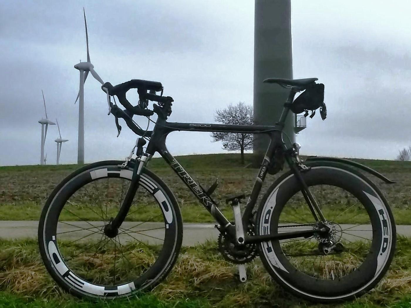 Sturm und Regen machen heute Pause - Radlwetter im Januar!