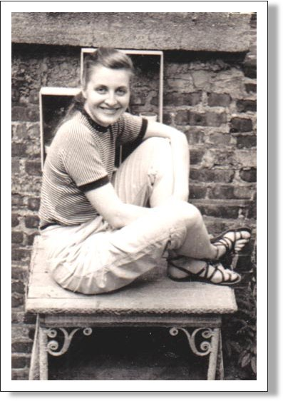 AnnaMay Olsen, Class of 1945 on Perry Street