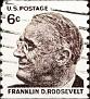 USA 1966-81 Franklin Roosevelt vertical