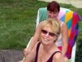 Susan & Kathy beam away