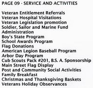 PAGE 09 - SERVICE AND ACTIVITIES