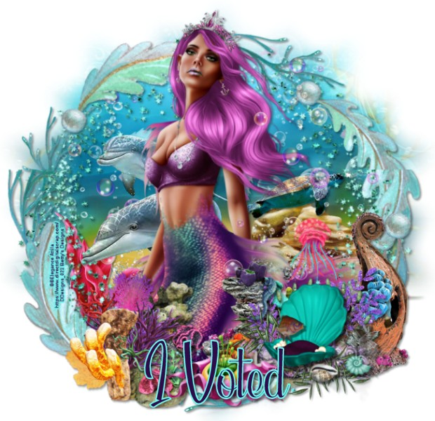 SEPTEMBER  VOTE FOR OUR GROUP - Page 5 SeaBeautyMermaid_IVotedvi-vi