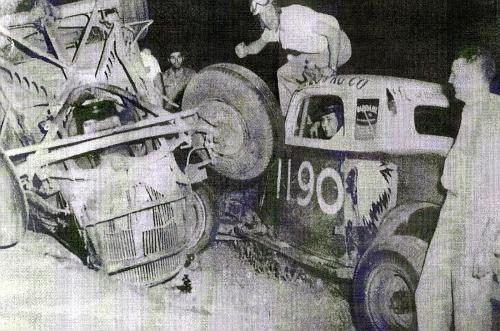 88 Malcolm Brady 1190 K C Richards Tri Cities Speedway 1955