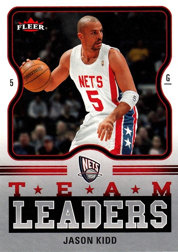 2006-07 Fleer Team Leaders Jason Kidd (1)