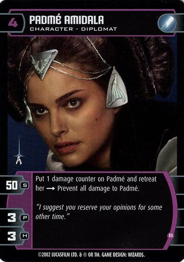 Attack of the Clones Playing Card Promo Padme (1)