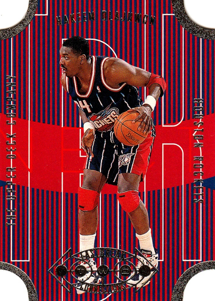 1996-97 Upper Deck Fast Break Connections #FB05 (1)
