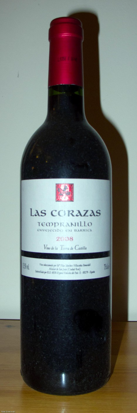 Las Corazas Vino de la Tierra de Castilla 2008
