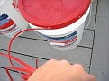 The 6 Gallon Grape Juice Buckets have a seal that has to be cut and pulled off.