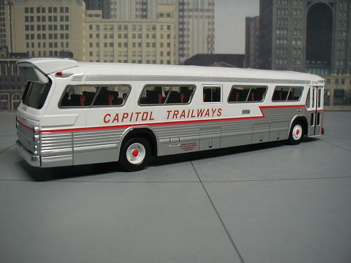 Capitol Trailways Harrisburg, Pa. CP-832