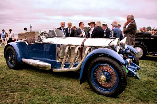 1929 Mercedes-Benz S Barker Tourer, Bruce R  McCaw, Bellevue, Washington DSC 2032 -3