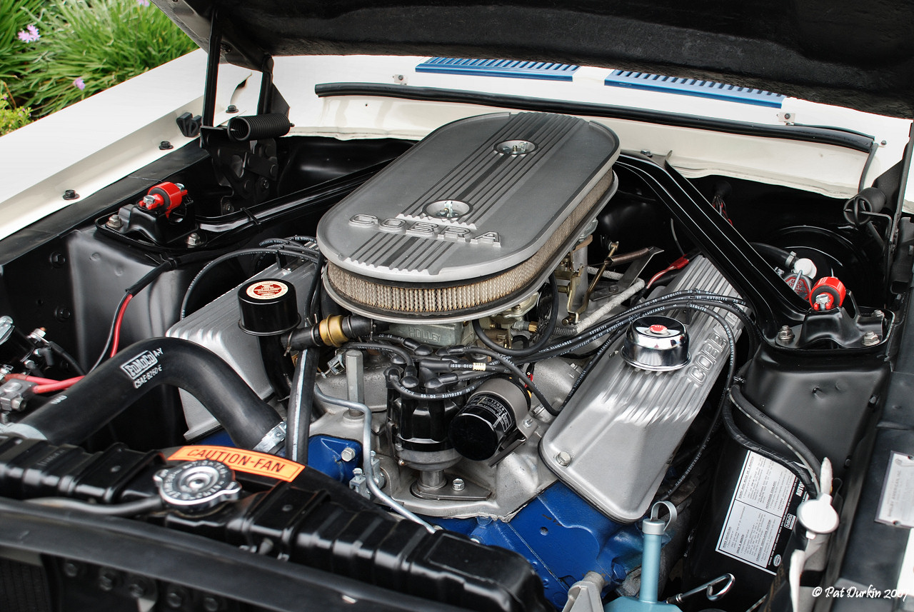 Mustang GT500 Super Snake 427 engine bay | Ford Mustang Shelby 1967 GT