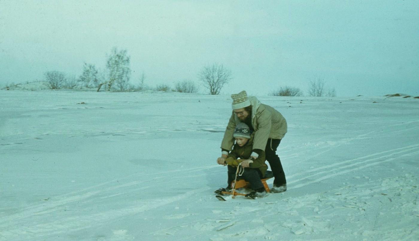 Slavka Shurik na snegokate