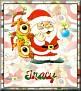 Santa with friendsTaTracy